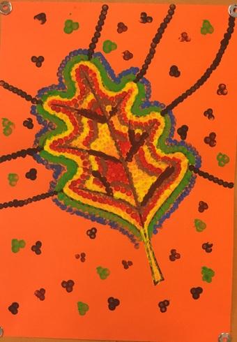 Feuilles d'automnes aborigènes