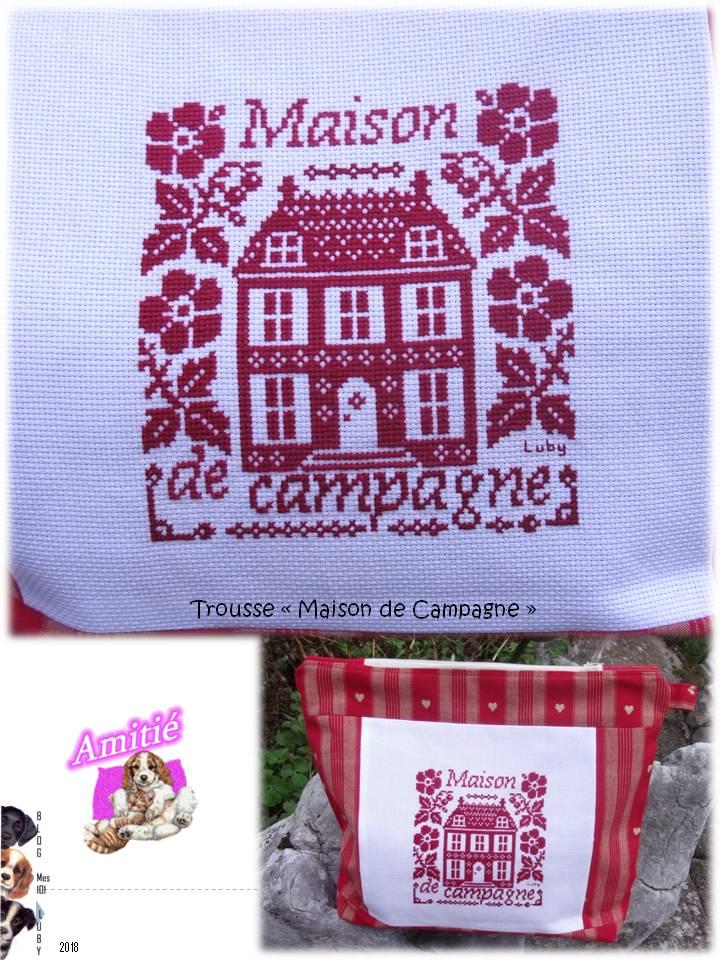 "Pochette ""Maison de Campagne"""