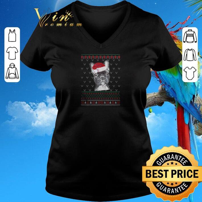Nice Merry Christmas Bulldog ugly shirt