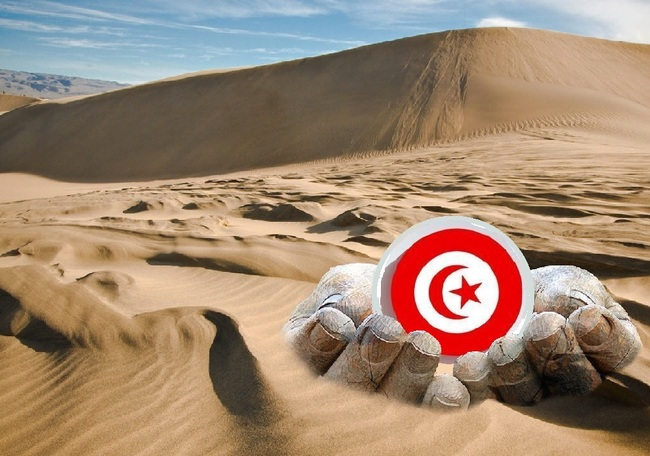 le coeur du desert Tunisien