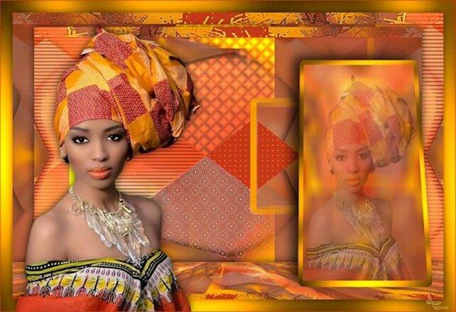 AF0024 - Tube femme africaine