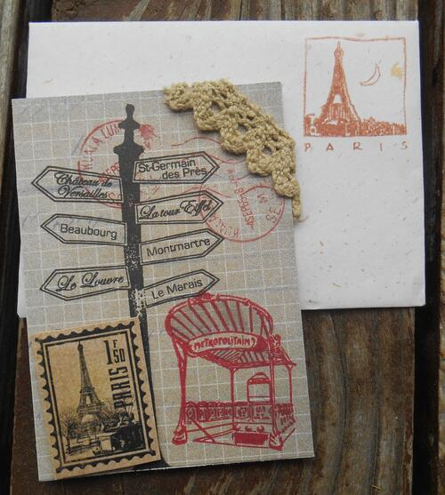"ATCs de Septembre-Octobre 2014 : ""PARIS"" (1)"