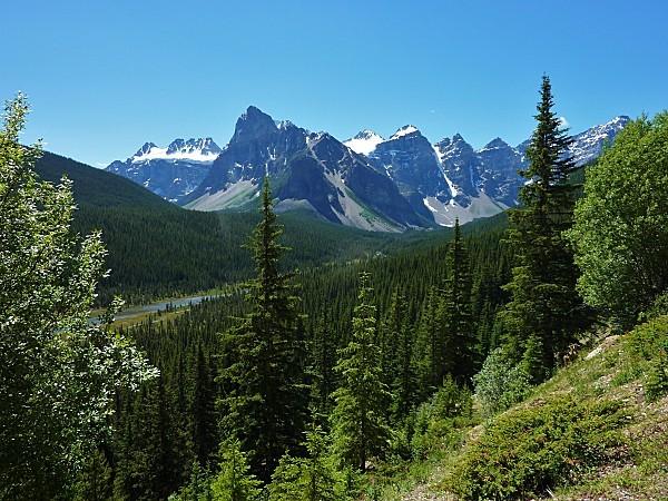 Jour 17 Banff vers Lake Moraine