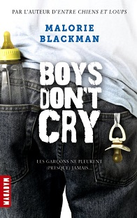Boys don't cry , Malory Blackman