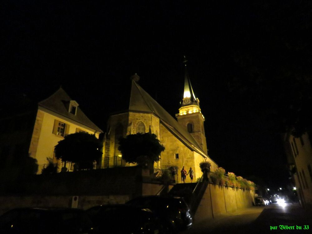 la fête du vin à Bergheim