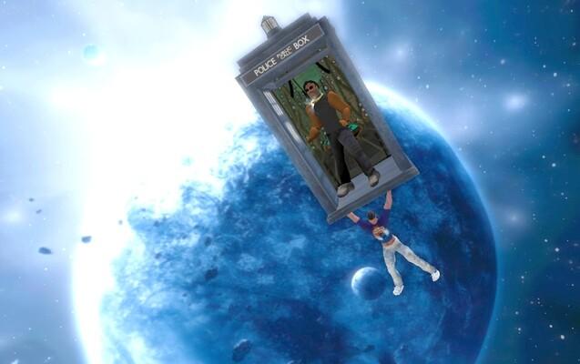 Tardis in Space 6