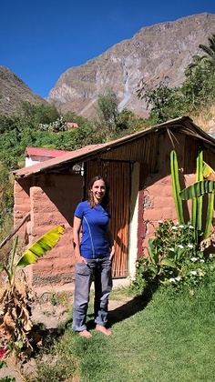 notre cabane dans le canyon de Colca
