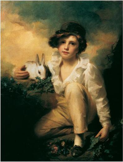 01 - Des histoires de lapins dans la peinture