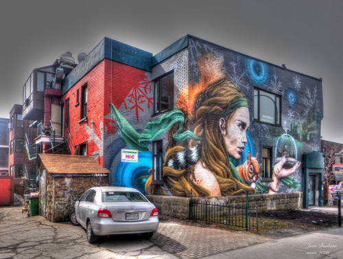 Graffiti: Outremont, Montréal