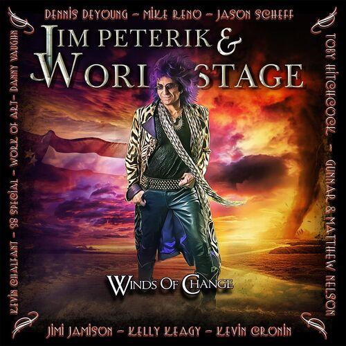 JIM PETERIK, Wolrd Stage cover