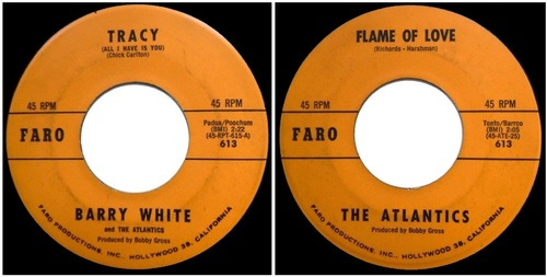 BARRY WHITE AND THE ATLANTICS
