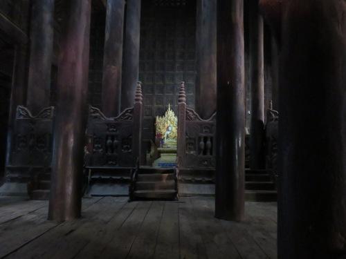 Ava : le monastère Bagaya