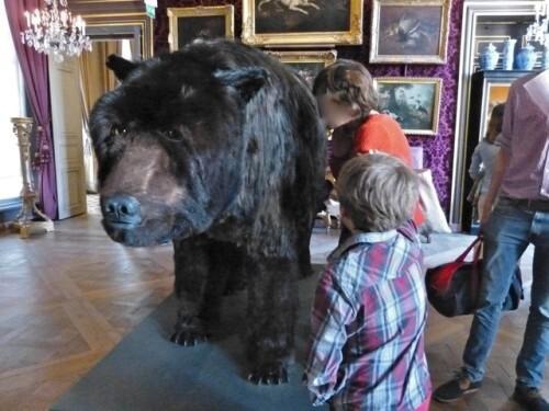 Dans la peau de l'ours Poincheval dialogue 7