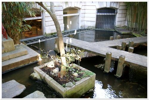 Panthéon Bouddhique. Le jardin japonais.