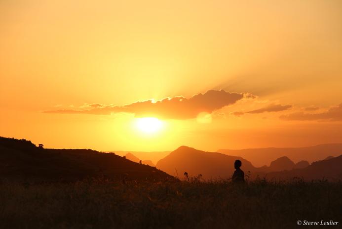 Derniers pas dans le Simien, Ethiopie