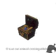 coffre au trésor - animal crossing DS