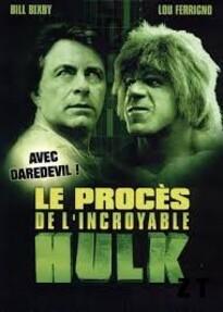 Le Procès De L'incroyable Hulk : Le Procès De L'incroyable Hulk ... ----- ... David BANNER débarque dans une ville contrôlée par l'homme d'affaire vereux Wilson FISK. Témoin d'une tentative de viol, David se métamorphose en HULK et fait fuir les agresseurs. A son réveil, David est arrêté et accusé de meurtre, persuadé de son innocence, l'avocat aveugle Matt MURDOCK acceptye de prendre sa défense. Pour gagner la confiance de David, MURDOCK lui révèle son secret : la nuit il devient DARDEVIL, ennemi juré de Wilson FISK.