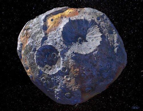 Psyche-16 l'astéroïde qui vaut de l'or