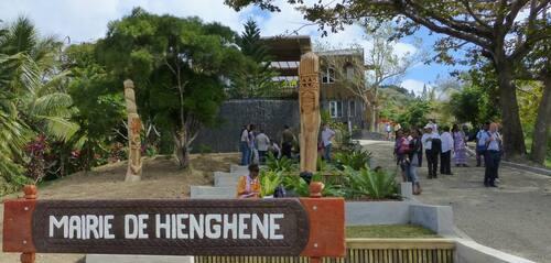 Mairie de Hienghène - Cliquer pour agrandir.