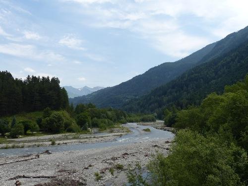 Les rives du Drac (Pont du Fossé - Champsaur)