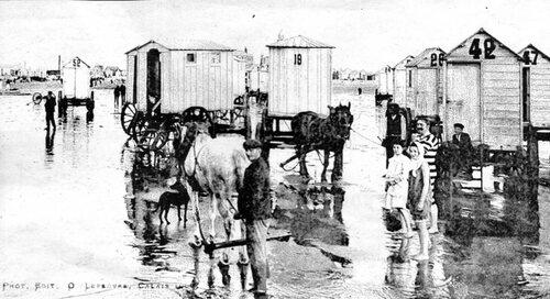 En 1914, les chalets sur roues disparaissaient