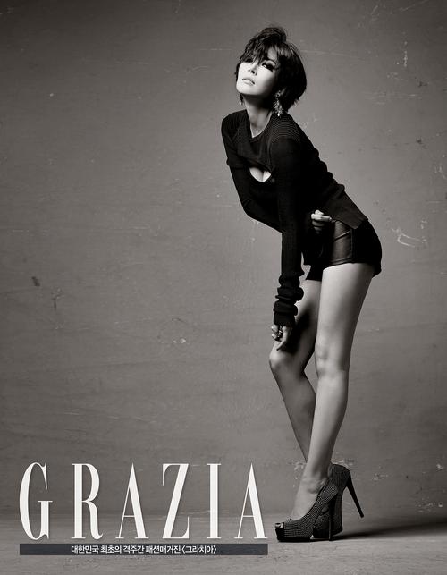 Kim So Yeon pour Grazia