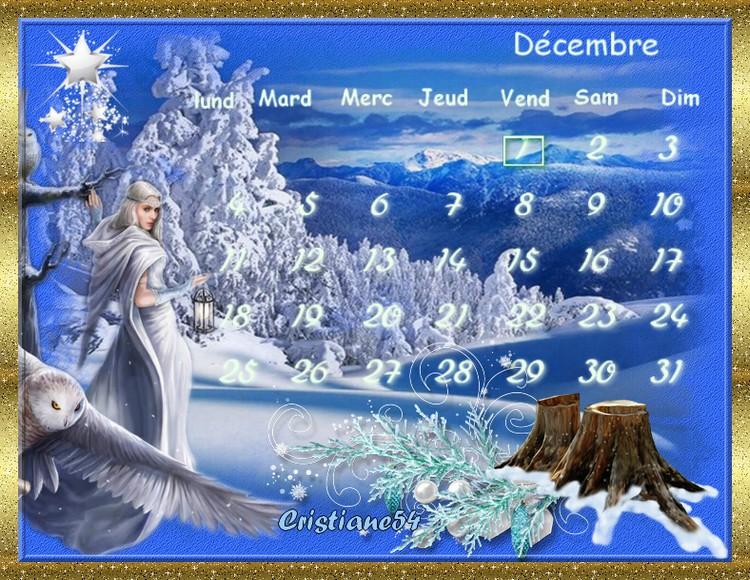 Defi calendrier  Decembre Sissi !