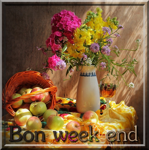 Bon week-end à tous !