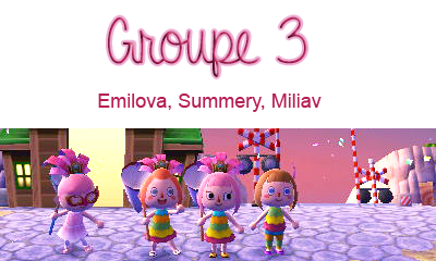 Carnaval ; Groupe 3