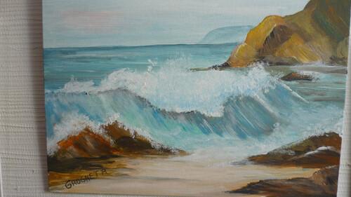 Evasion Peinture GR Océan