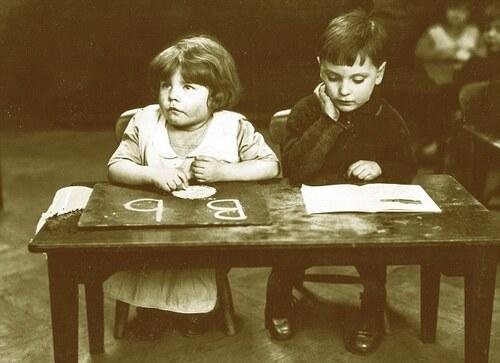 07 - Les écoliers: Portraits