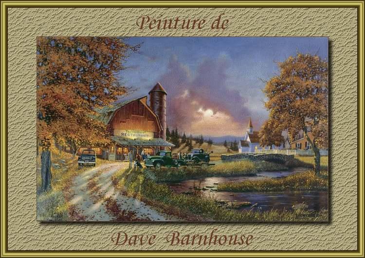 Peinture de : Dave Barnhouse
