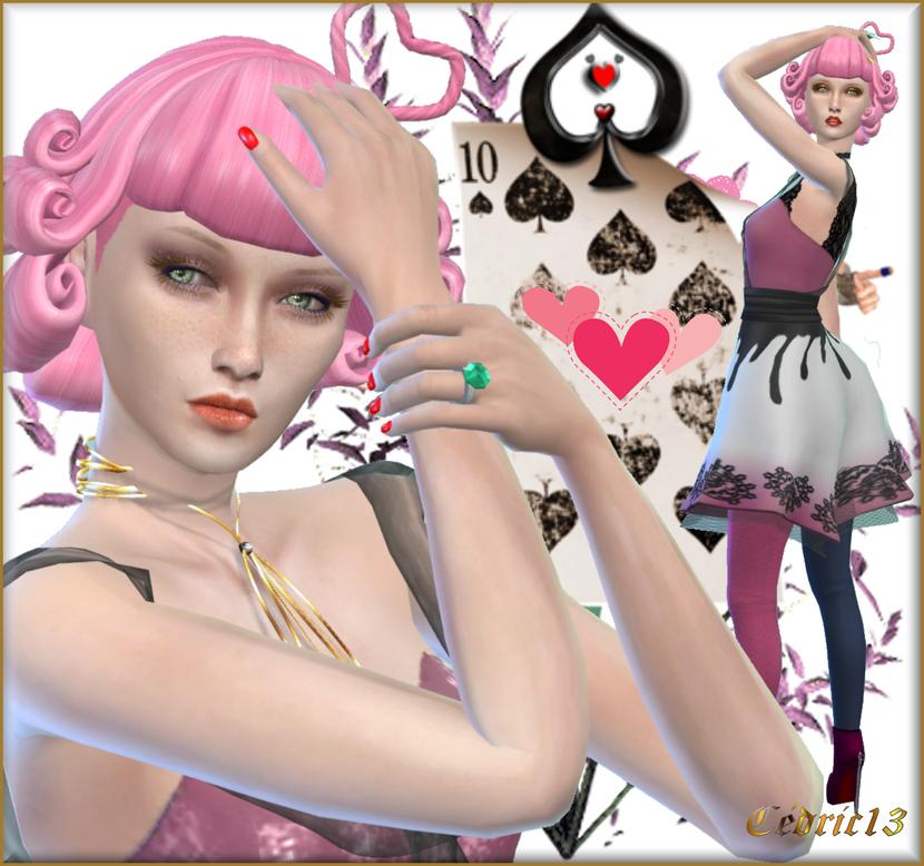 TS4 Sim: Reine De trèfle