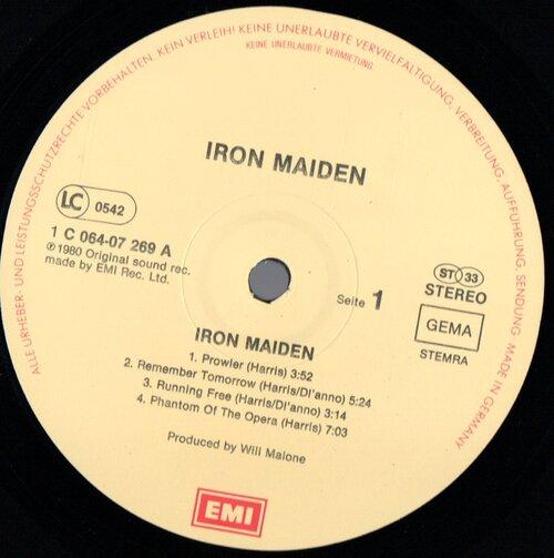 Ajout LP: Iron Maiden