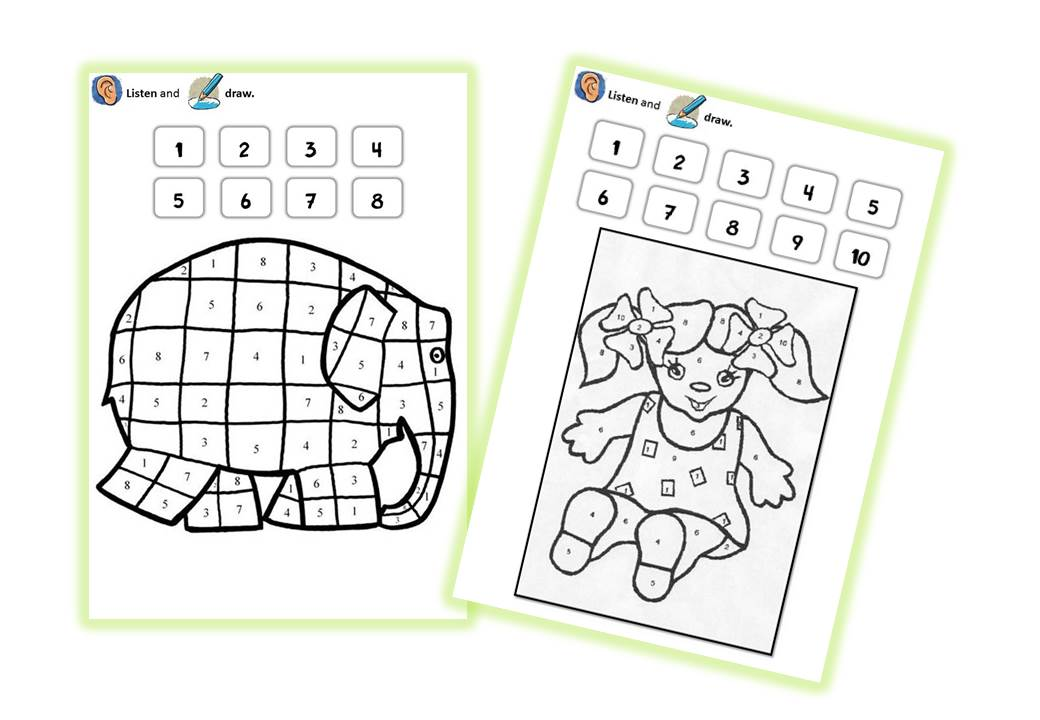 Sequence anglais numbers cycle 2 caracolus bloglovin - Coloriage magique cycle 2 ...