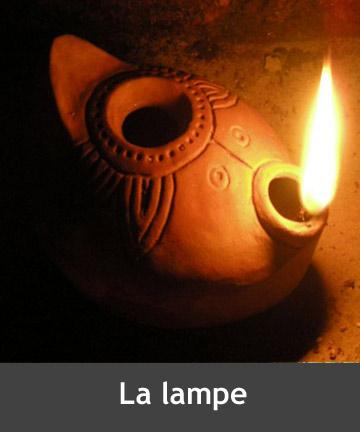 Parabole de la lampe