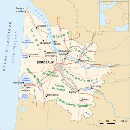 Gironde_map_routes_villes
