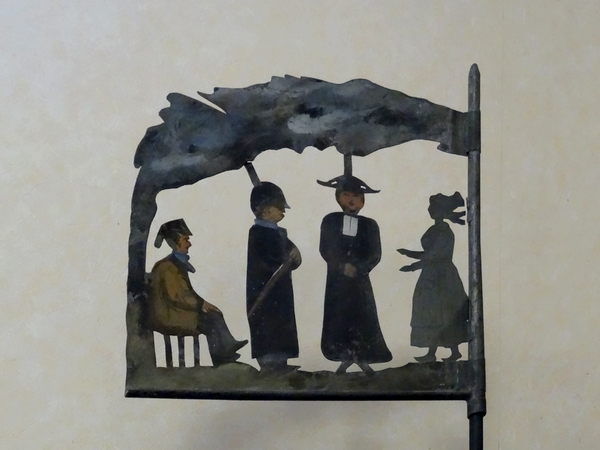 Une superbe exposition de girouettes a eu lieu à Aignay le Duc