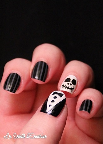 Inspiration Nail Art : le striping tape et moi...