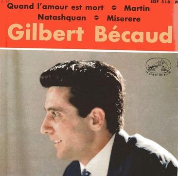 Gilbert Bécaud, 1961