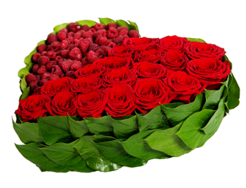 Coeurs fleurs / 1
