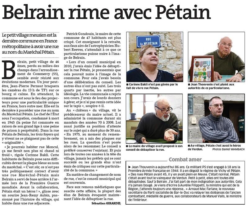 Pétain réhabilité par Zemmour a des problèmes…