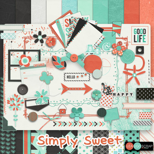 "LEAUGOSCRAP :  ""Simply sweet ! """