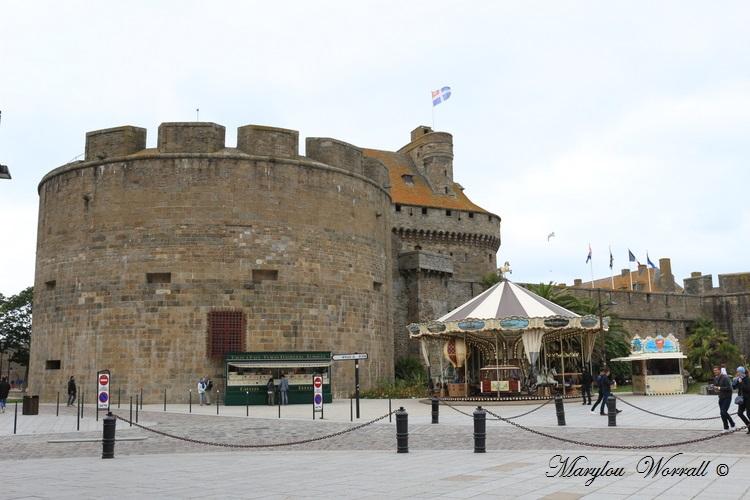 Bretagne : Saint-Malo, le Château Hôtel de Ville