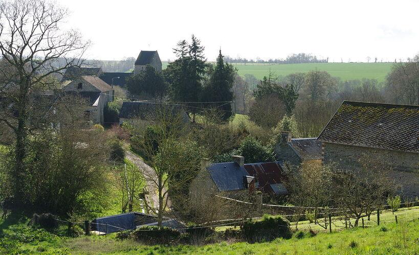 Vue sur le village.
