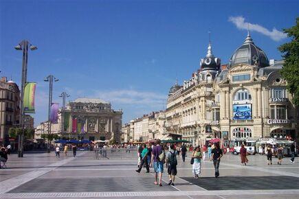 Double rencontre à Montpellier