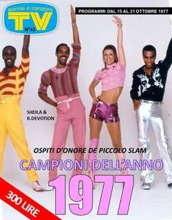 20 octobre 1977 : Love Me Italia ! PLUS DE 20 NOUVEAUTES...