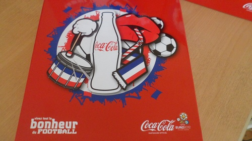Coffret Collector coca cola euro 2012