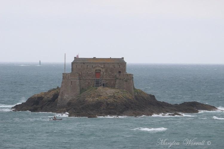 Bretagne : Saint-Malo, Île du Petit Bé