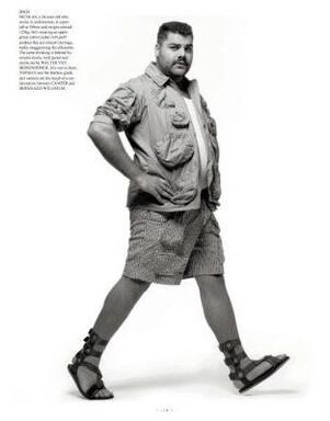Plus le pourboire de mode pour hommes de taille pour le grassouillet